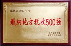 2013年缴税500强